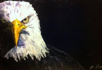 """""""liberté"""" huile sur toile 18x36, 2013"""