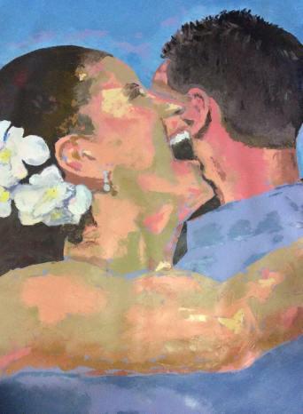 """""""Dream day"""" huile sur toile, 40x30, 2010"""