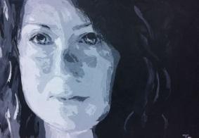 """""""hope"""" huile sur toile, 20x24, 2012"""