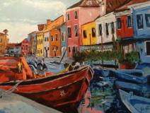 """""""Italie"""" huile sur toile 30x40, 2014"""