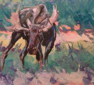 """""""Confidence""""- Oil on canvas 30x24, 2013"""
