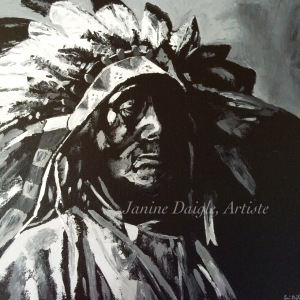"""Self Worth"", Oil on Canvas, 16x16, $290"