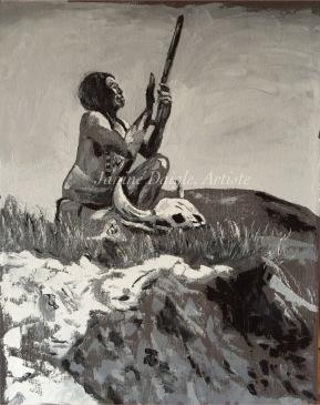 """Power of Prayer"", Oil on Canvas, 18x14, $230"