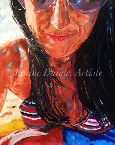 """Summer Days"", Oil on Canvas, 30x24, 2015- $500"