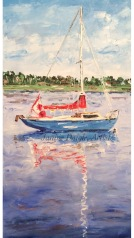 "SOLD ""Little Sailboat"""