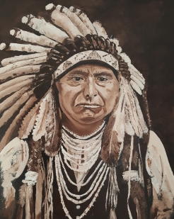 Chief Joseph, Oil