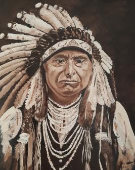Chief Joseph, Oil